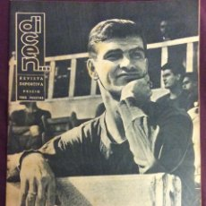 Coleccionismo deportivo: REVISTA DICEN. N-309.11 OCTUBRE 1958. PORTADA KOCSIS. FC BARCELONA. Lote 58325274