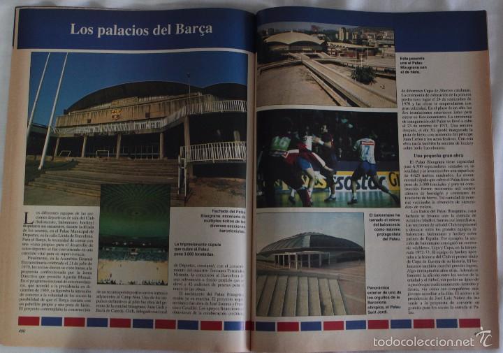 Coleccionismo deportivo: ABC. HISTORIA VIVA DEL F.C. BARCELONA. FASCÍCULO 31 - Foto 2 - 58331314
