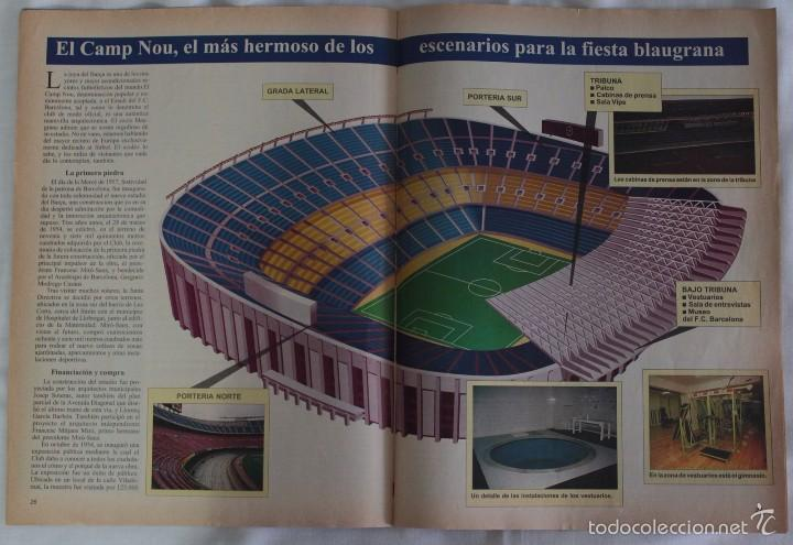 Coleccionismo deportivo: ABC. HISTORIA VIVA DEL F.C. BARCELONA. FASCÍCULO 2 - Foto 2 - 58331324