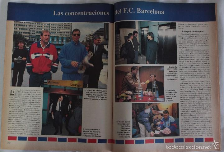 Coleccionismo deportivo: ABC. HISTORIA VIVA DEL F.C. BARCELONA. FASCÍCULO 13 - Foto 2 - 58331338