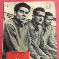 Coleccionismo deportivo: REVISTA DICEN. 16 MARZO 1957. N-231. PORTADA OLIVELLA, BRUGUÉ, GRACIA F.C.BARCELONA. Lote 58370437