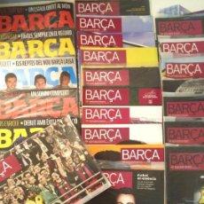 Coleccionismo deportivo: 46 REVISTAS OFICIALES FC BARCELONA DESDE 2007 AL 2016, REVISTA OFICIAL BARÇA.. Lote 58424009