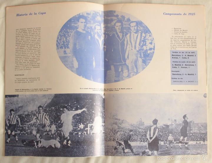 Coleccionismo deportivo: FÚTBOL. HISTORIA DE LA COPA. CAMPEONATO DE 1925. BARÇA CAMPEÓN - Foto 2 - 58472482