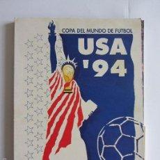Coleccionismo deportivo: USA´94 COPA DEL MUNDO DE FUTBOL . 1994. COLECCIONABLE COMPLETO CON TAPAS Y 9 FASCICULOS.. Lote 58573499