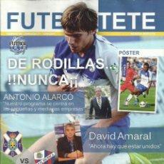 Coleccionismo deportivo: FÚTBOL TETE.Nº 95.CD TENERIFE-SD HUESCA.10/04/2011.PÓSTER DE KITOKO.. Lote 58596040