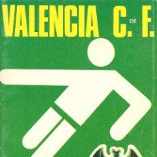 Coleccionismo deportivo: PROGRAMA OFICIAL-REVISTA FÚTBOL , VALENCIA CF- GRANADA , CAMPEONATO LIGA 1973/74. Lote 58615435