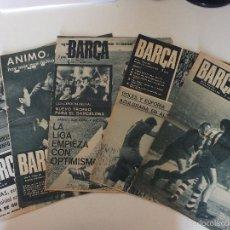 Lote de 5 diarios deportivos BARCA. Años 1968-1969-1971.