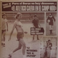 Coleccionismo deportivo: DIARIO DICEN DEL 21 DE JUNIO DE 1983 - BARÇA-ATLETICO MADRID. Lote 59498327