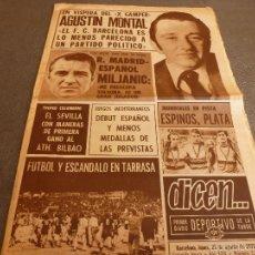 Coleccionismo deportivo: DICEN (25-8-75)TARRASA 2 BARÇA 4!!!ESCANDALO!!!X TROFEO GAMPER,BARÇA 75-76 VISTO POR MONTAL.. Lote 59510203
