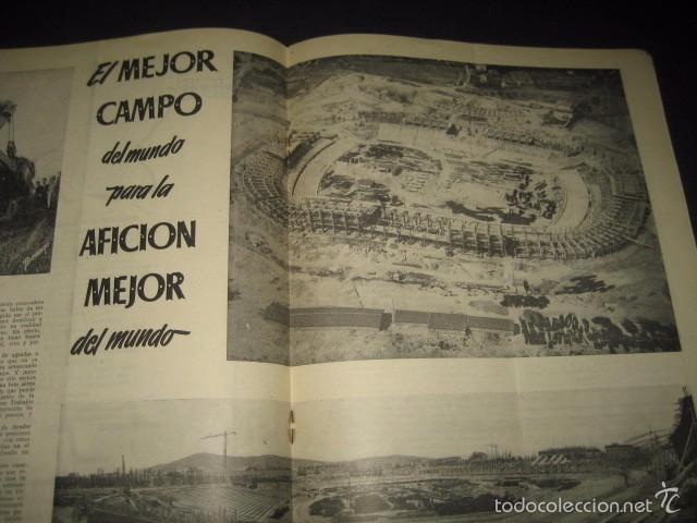 Coleccionismo deportivo: CLUB DE FUTBOL BARCELONA. INFORMACION Nº14 AÑO 1956 - Foto 5 - 59665071