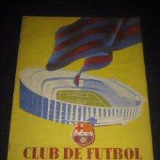 Coleccionismo deportivo: CLUB DE FUTBOL BARCELONA. REVISTA INFORMACION Nº15 AÑO 1956. Lote 59665287