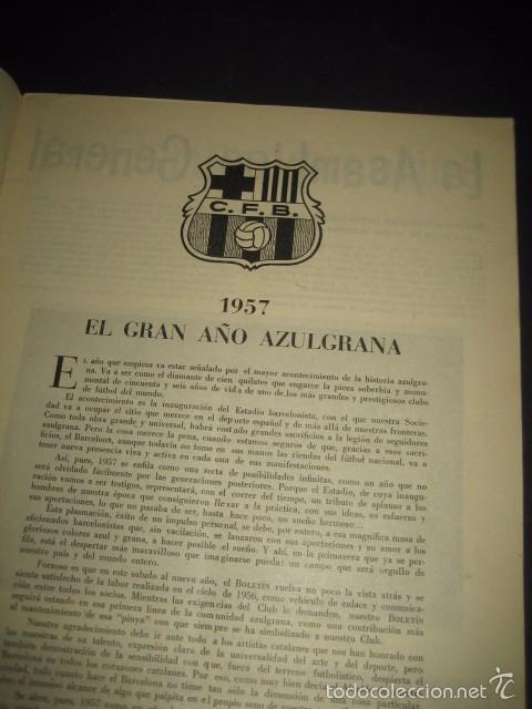 Coleccionismo deportivo: CLUB DE FUTBOL BARCELONA. REVISTA INFORMACION Nº15 AÑO 1956 - Foto 2 - 59665287