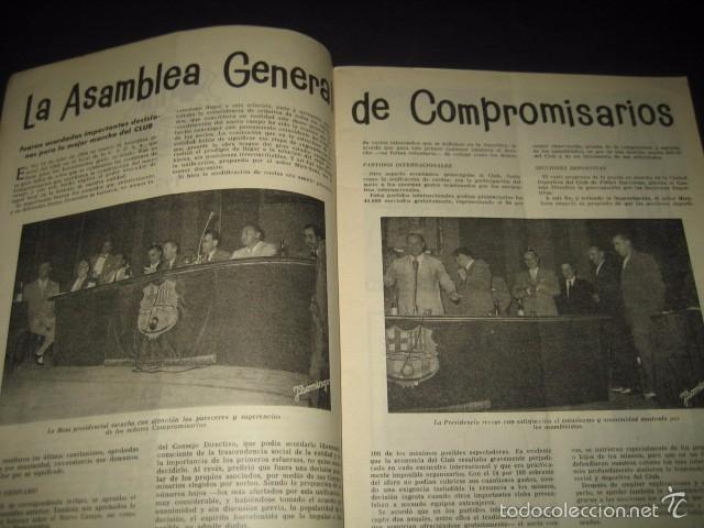 Coleccionismo deportivo: CLUB DE FUTBOL BARCELONA. REVISTA INFORMACION Nº15 AÑO 1956 - Foto 3 - 59665287