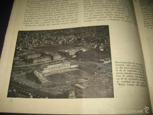 Coleccionismo deportivo: CLUB DE FUTBOL BARCELONA. REVISTA INFORMACION Nº15 AÑO 1956 - Foto 4 - 59665287
