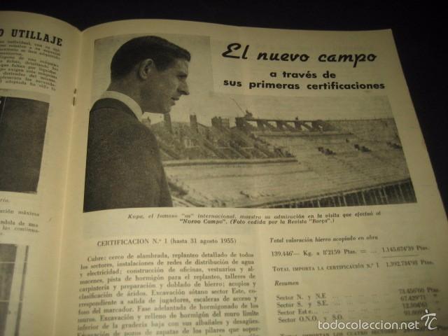 Coleccionismo deportivo: CLUB DE FUTBOL BARCELONA. REVISTA INFORMACION Nº15 AÑO 1956 - Foto 5 - 59665287
