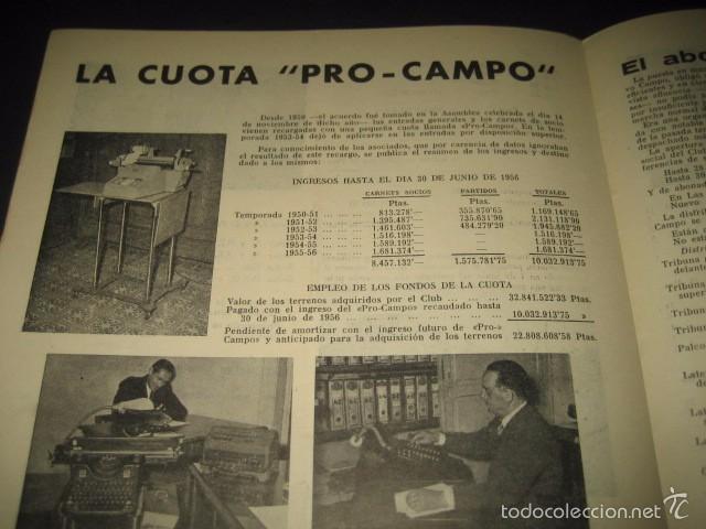 Coleccionismo deportivo: CLUB DE FUTBOL BARCELONA. REVISTA INFORMACION Nº15 AÑO 1956 - Foto 7 - 59665287