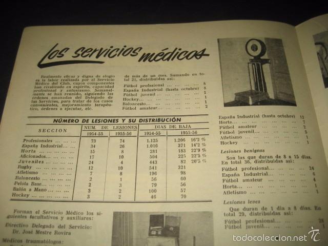 Coleccionismo deportivo: CLUB DE FUTBOL BARCELONA. REVISTA INFORMACION Nº15 AÑO 1956 - Foto 8 - 59665287
