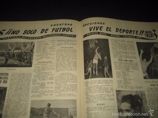 Coleccionismo deportivo: CLUB DE FUTBOL BARCELONA. REVISTA INFORMACION Nº15 AÑO 1956 - Foto 9 - 59665287