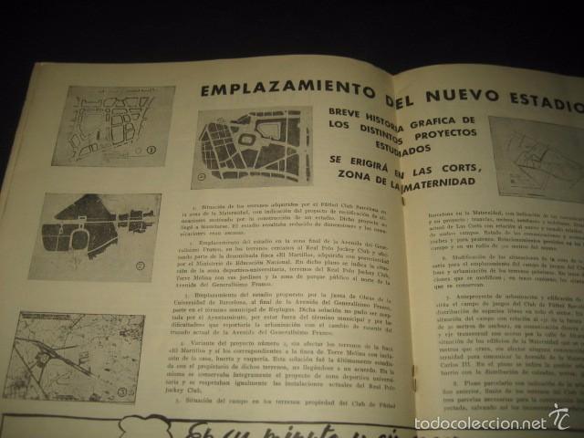 Coleccionismo deportivo: CLUB DE FUTBOL BARCELONA. REVISTA INFORMACION MARZO 1954 - Foto 5 - 59665423
