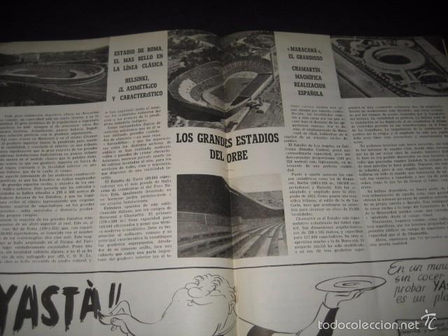 Coleccionismo deportivo: CLUB DE FUTBOL BARCELONA. REVISTA INFORMACION MAYO 1954 - Foto 3 - 59665599