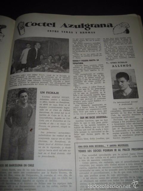 Coleccionismo deportivo: CLUB DE FUTBOL BARCELONA. REVISTA INFORMACION MAYO 1954 - Foto 4 - 59665599