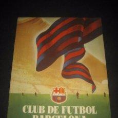 Coleccionismo deportivo: CLUB DE FUTBOL BARCELONA. REVISTA INFORMACION Nº4 OCTUBRE 1954. Lote 59665895