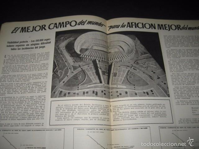 Coleccionismo deportivo: CLUB DE FUTBOL BARCELONA. REVISTA INFORMACION Nº5 NOVIEMBRE 1954 - Foto 4 - 59666015