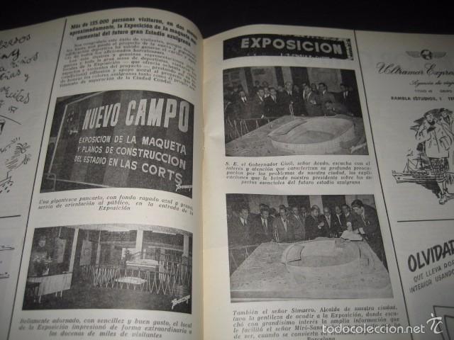 Coleccionismo deportivo: CLUB DE FUTBOL BARCELONA. REVISTA INFORMACION Nº6 DICIEMBRE 1954 - Foto 3 - 59666103