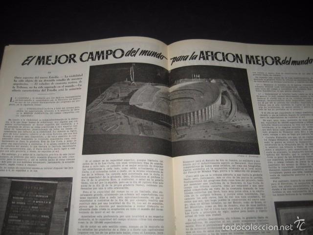 Coleccionismo deportivo: CLUB DE FUTBOL BARCELONA. REVISTA INFORMACION Nº6 DICIEMBRE 1954 - Foto 4 - 59666103