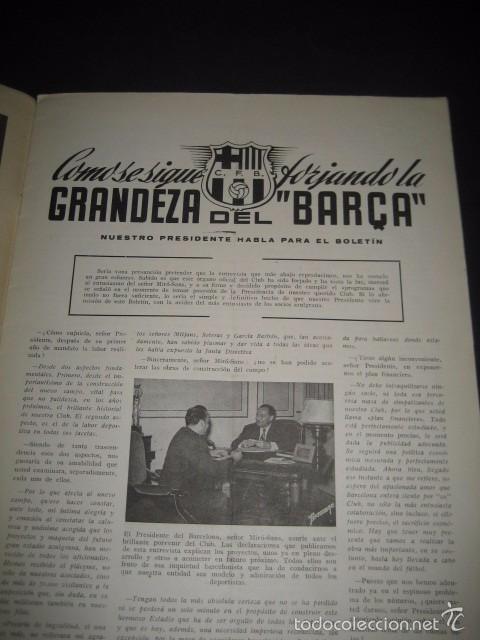 Coleccionismo deportivo: CLUB DE FUTBOL BARCELONA. REVISTA INFORMACION Nº7 ENERO 1955 - Foto 2 - 59666155