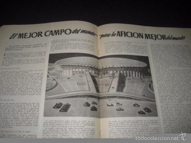 Coleccionismo deportivo: CLUB DE FUTBOL BARCELONA. REVISTA INFORMACION Nº7 ENERO 1955 - Foto 4 - 59666155
