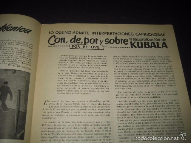 Coleccionismo deportivo: CLUB DE FUTBOL BARCELONA. REVISTA INFORMACION Nº8 FEBRERO 1955 - Foto 2 - 59666219