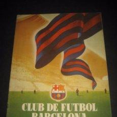 Coleccionismo deportivo: CLUB DE FUTBOL BARCELONA. REVISTA INFORMACION Nº9 MARZO 1955. Lote 59666307