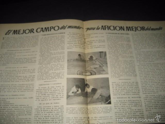 Coleccionismo deportivo: CLUB DE FUTBOL BARCELONA. REVISTA INFORMACION Nº9 MARZO 1955 - Foto 4 - 59666307
