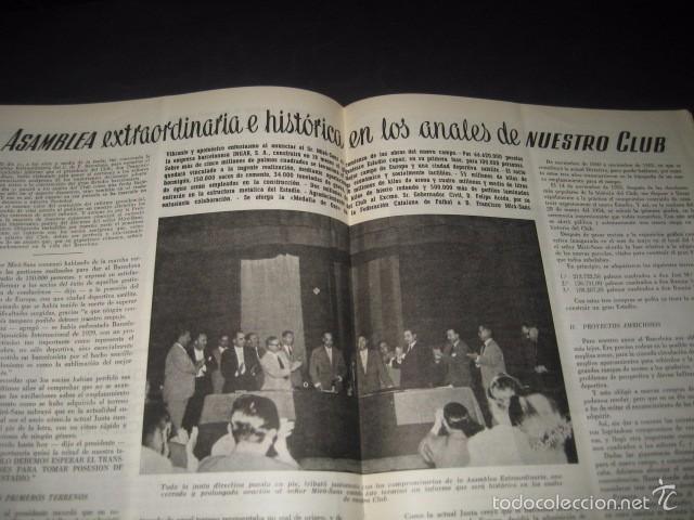 Coleccionismo deportivo: CLUB DE FUTBOL BARCELONA. REVISTA INFORMACION Nº11 MAYO - JUNIO 1955 - Foto 6 - 59666439