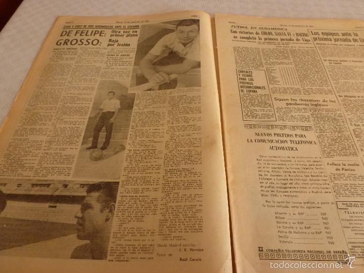 Coleccionismo deportivo: DICEN (13-9-68)CARRASCO Vs MELISSANO BOXEO,DE FELIPE(R.MADRID)VOLTA-68,BASKET ESPAÑOL MEXICO,ARTIGAS - Foto 3 - 59678247