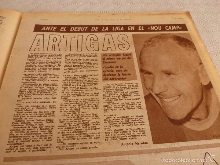 Coleccionismo deportivo: DICEN (13-9-68)CARRASCO Vs MELISSANO BOXEO,DE FELIPE(R.MADRID)VOLTA-68,BASKET ESPAÑOL MEXICO,ARTIGAS - Foto 4 - 59678247