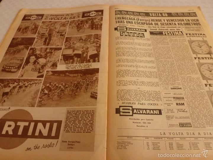 Coleccionismo deportivo: DICEN (13-9-68)CARRASCO Vs MELISSANO BOXEO,DE FELIPE(R.MADRID)VOLTA-68,BASKET ESPAÑOL MEXICO,ARTIGAS - Foto 6 - 59678247
