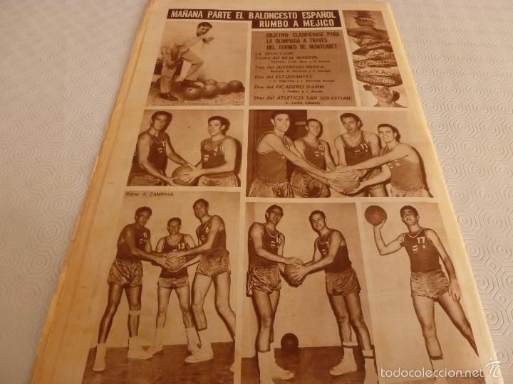 Coleccionismo deportivo: DICEN (13-9-68)CARRASCO Vs MELISSANO BOXEO,DE FELIPE(R.MADRID)VOLTA-68,BASKET ESPAÑOL MEXICO,ARTIGAS - Foto 8 - 59678247