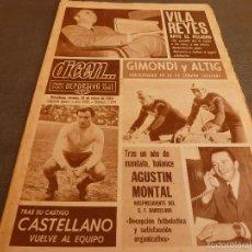 Coleccionismo deportivo: DICEN (10-1-69)GIMONDI Y ALTIG,CONESA(MALLORCA)CASTELLANO(L.PALMAS)VILA REYES(ESPAÑOL)AGUSTIN MONTAL. Lote 59731264
