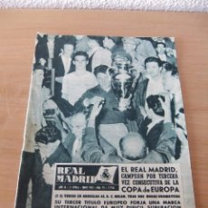 ANTIGUA REVISTA REAL MADRID *NUMERO 95 AÑO 1958* CAMPEÓN COPA DE EUROPA