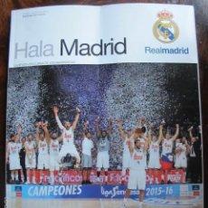 Coleccionismo deportivo: REVISTA REAL MADRID HALA MADRID NUMERO 59 AGOSTO 2016. Lote 60179339