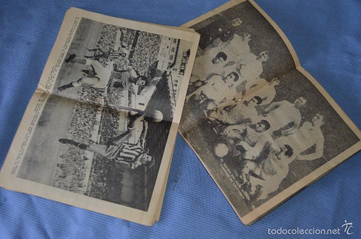 Coleccionismo deportivo: Colección ÍDOLOS de la FAMA - Año 1965 - Núm. 01 y 10 - GENTO y PEIRO - Pósters R. MADRID - Foto 2 - 60342759