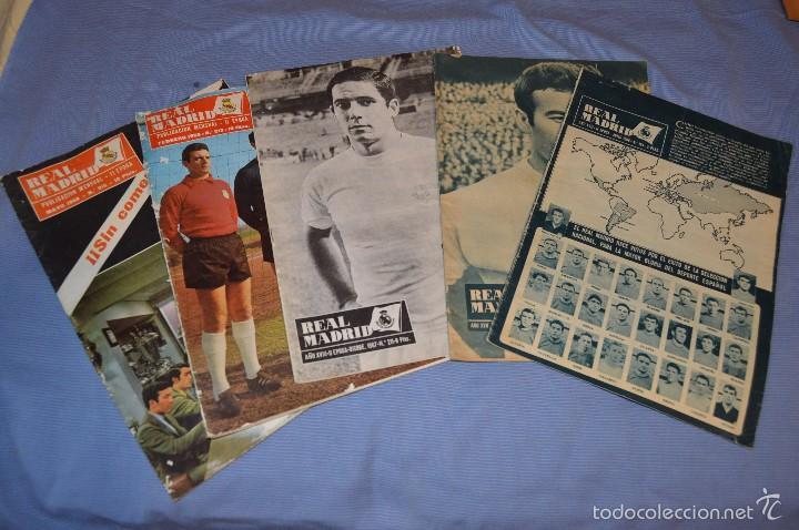 LOTE, 5 REVISTAS REAL MADRID - AÑOS 60 - NÚM. 190, 194, 211, 213 Y 216 - MIRA FOTOS/DETALLES (Coleccionismo Deportivo - Revistas y Periódicos - otros Fútbol)