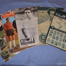 Coleccionismo deportivo: LOTE, 5 REVISTAS REAL MADRID - AÑOS 60 - NÚM. 190, 194, 211, 213 Y 216 - MIRA FOTOS/DETALLES. Lote 60370671