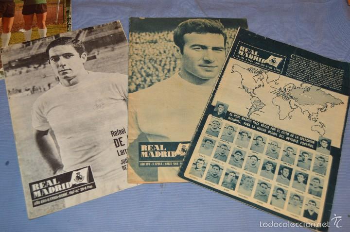Coleccionismo deportivo: Lote, 5 revistas REAL MADRID - Años 60 - Núm. 190, 194, 211, 213 y 216 - Mira Fotos/detalles - Foto 2 - 60370671