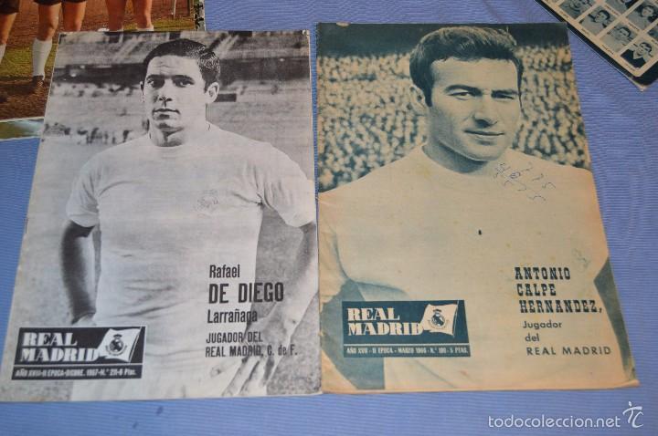 Coleccionismo deportivo: Lote, 5 revistas REAL MADRID - Años 60 - Núm. 190, 194, 211, 213 y 216 - Mira Fotos/detalles - Foto 3 - 60370671