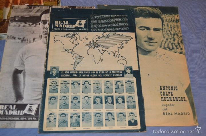 Coleccionismo deportivo: Lote, 5 revistas REAL MADRID - Años 60 - Núm. 190, 194, 211, 213 y 216 - Mira Fotos/detalles - Foto 4 - 60370671