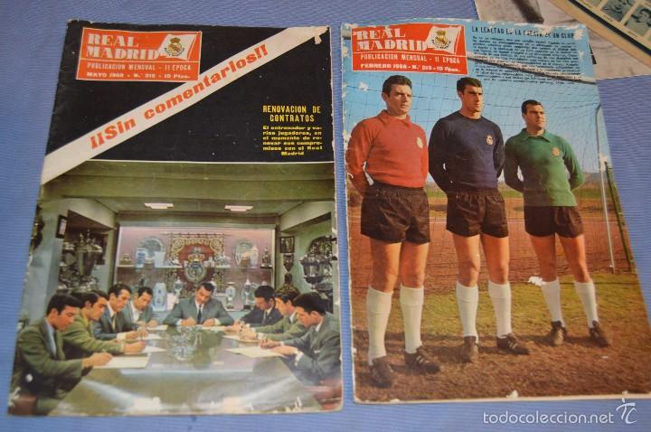 Coleccionismo deportivo: Lote, 5 revistas REAL MADRID - Años 60 - Núm. 190, 194, 211, 213 y 216 - Mira Fotos/detalles - Foto 5 - 60370671