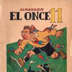 Collectionnisme sportif: ALMANAQUE EL ONCE 11 - AÑO 1950. Lote 61156071
